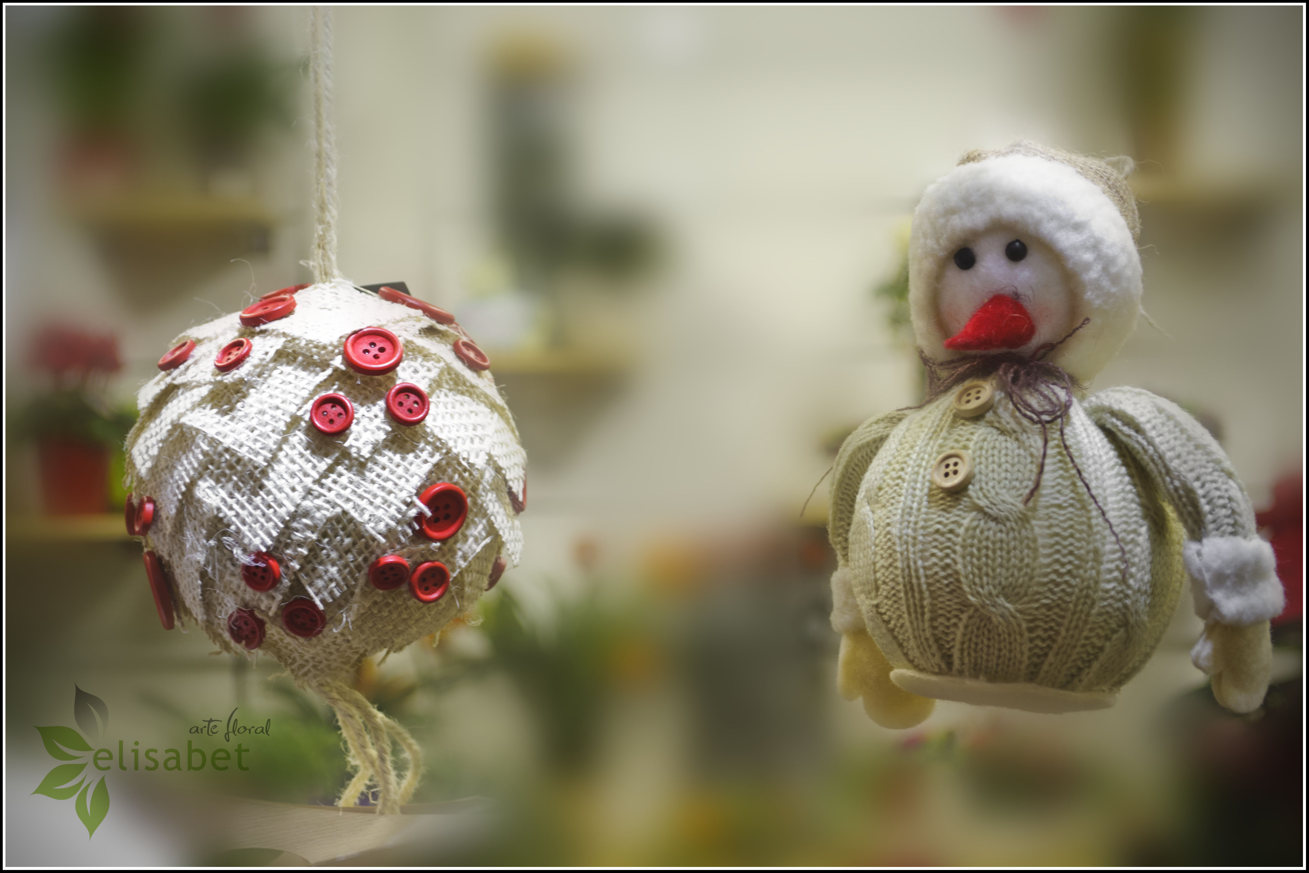 Navidad elisabet arte floral blog - Adornos navidenos 2014 ...