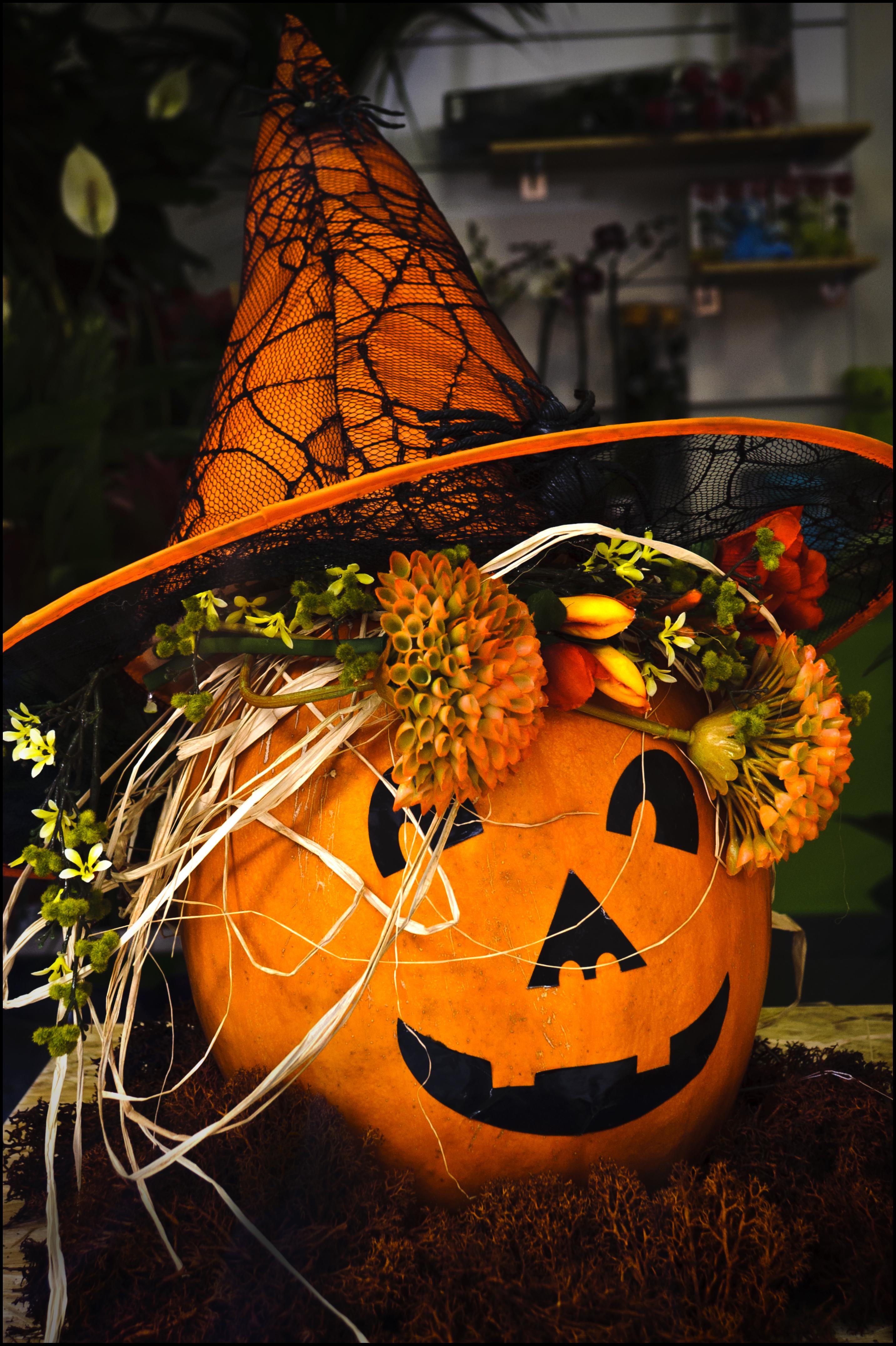halloween elisabet arte floral blog