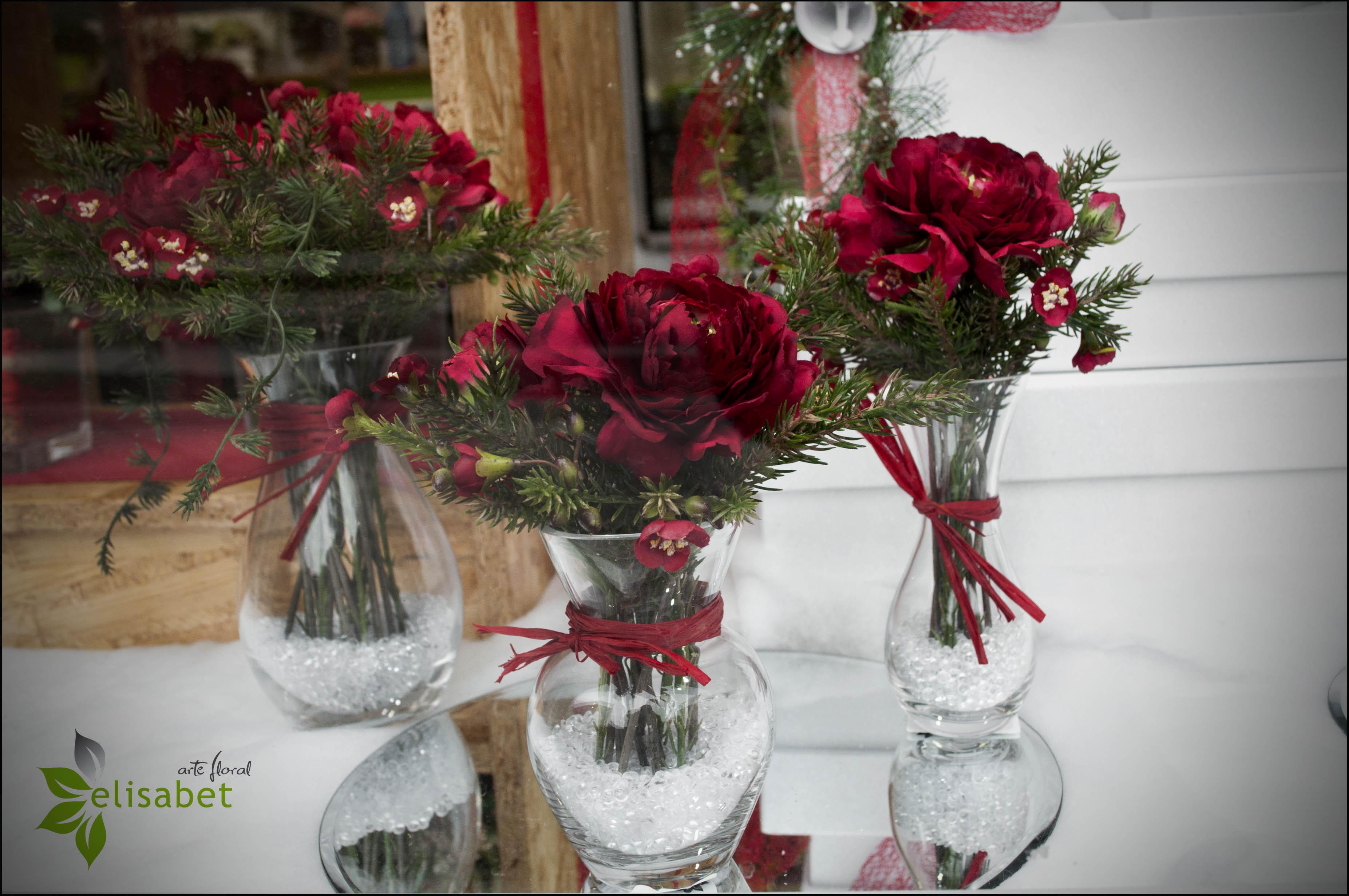Ideas para decorar tu navidad elisabet arte floral blog - Centros navidenos de mesa ...