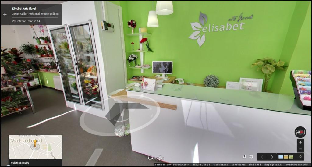Visita virtual del interior de la tienda.