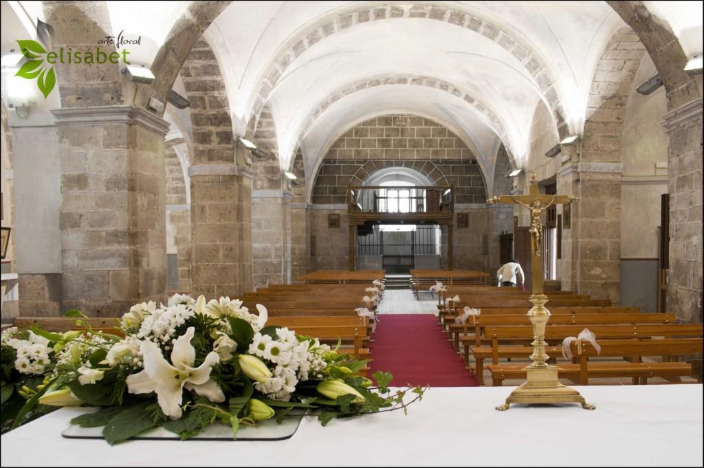 Centro decorativo para la mesa del Altar