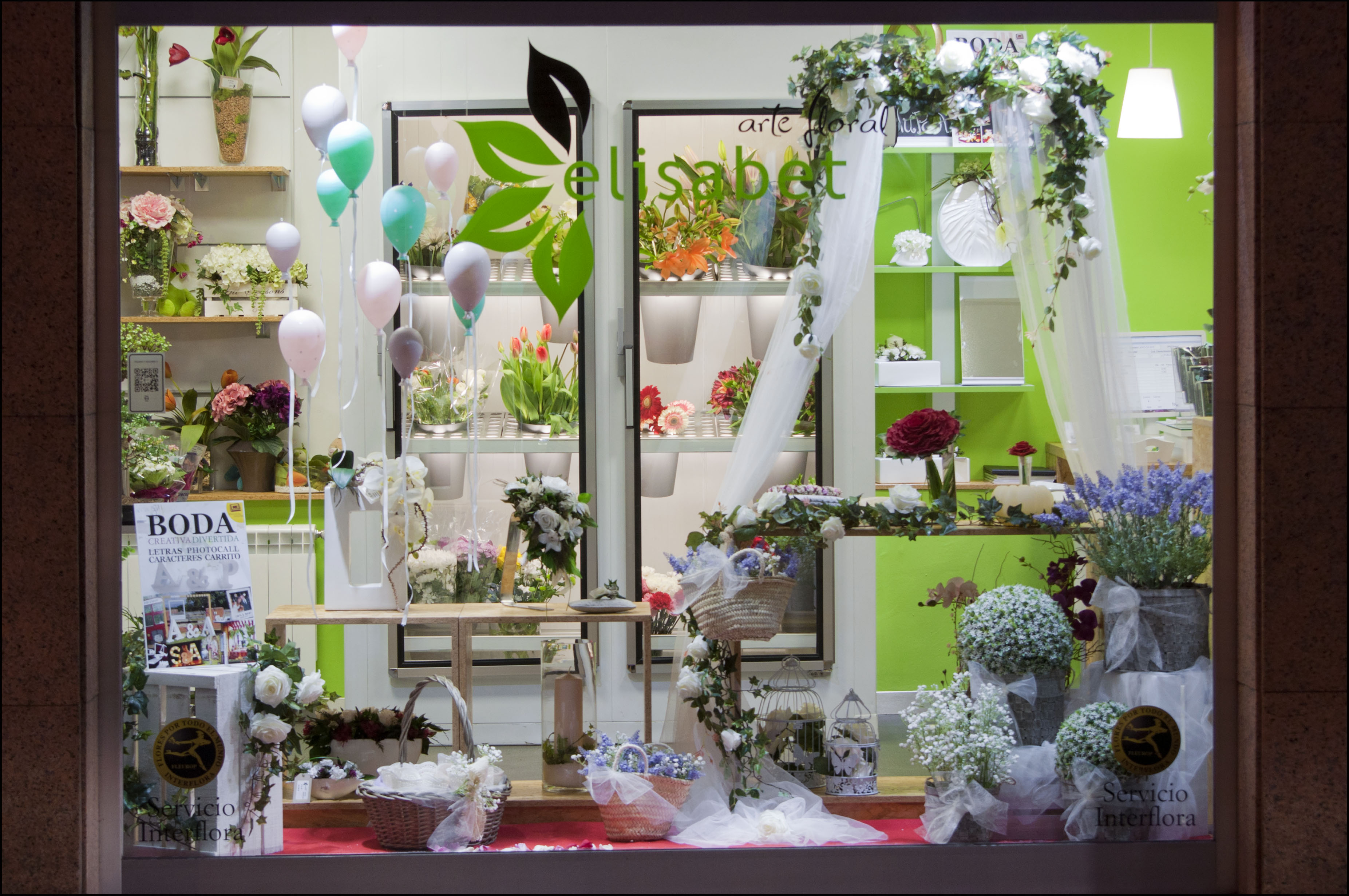 Tendencias para bodas 2015 elisabet arte floral blog - Decoracion de escaparates ...