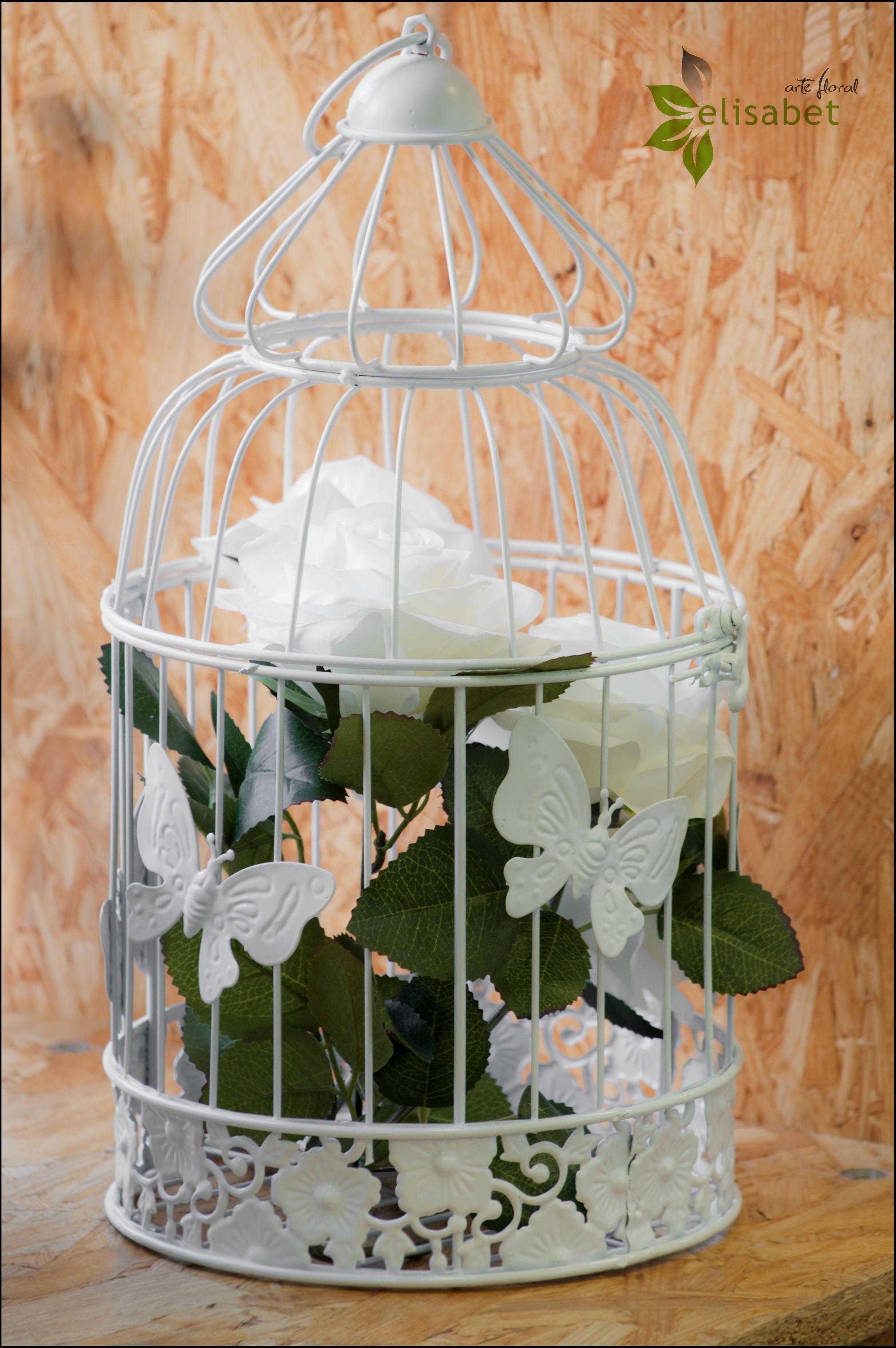 Jaulas Para Decoracion Baratas ~ Jaulas de flores