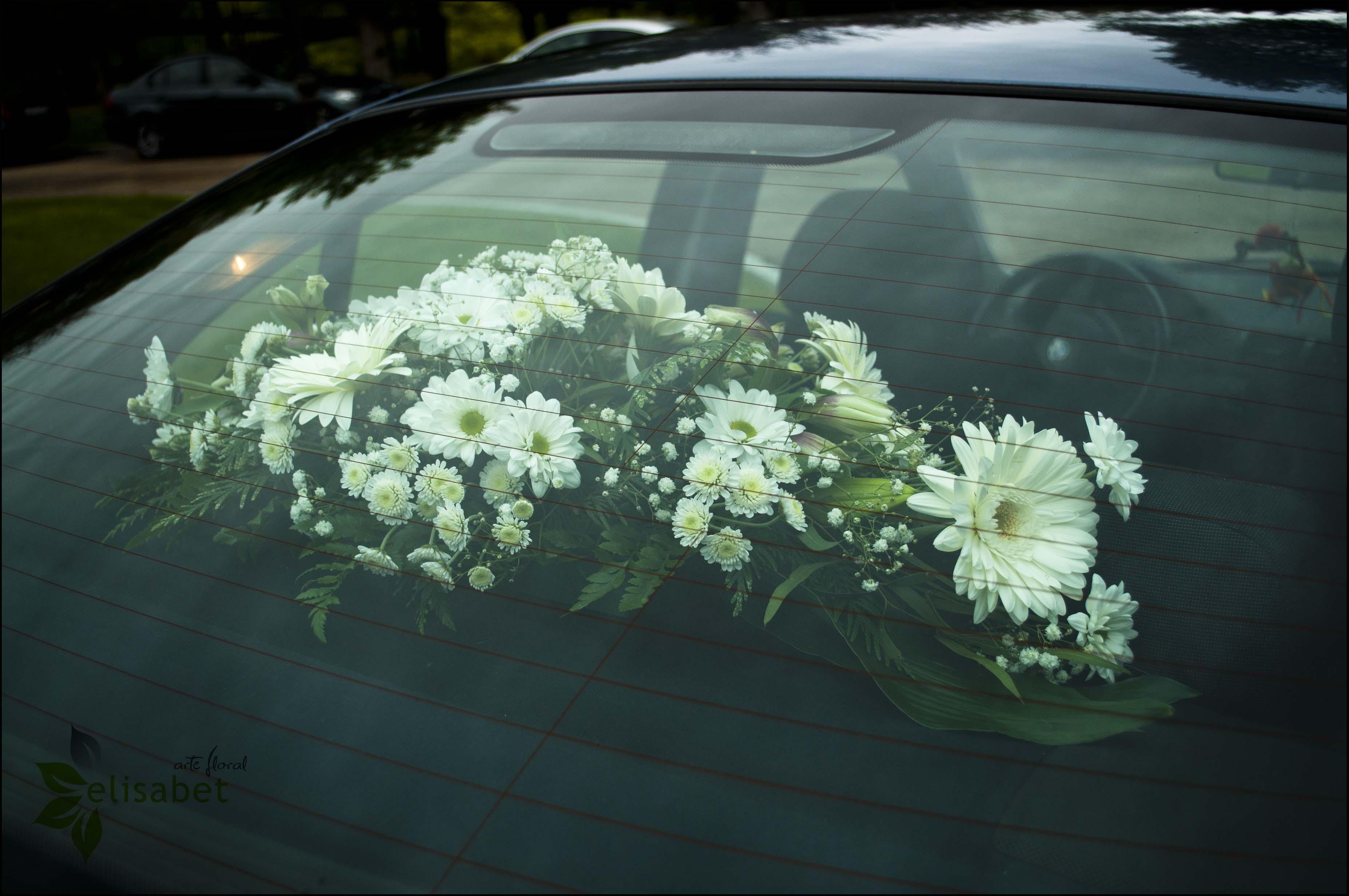 Boda centro de artes esc nicas elisabet arte floral blog - Decoracion interior coche ...