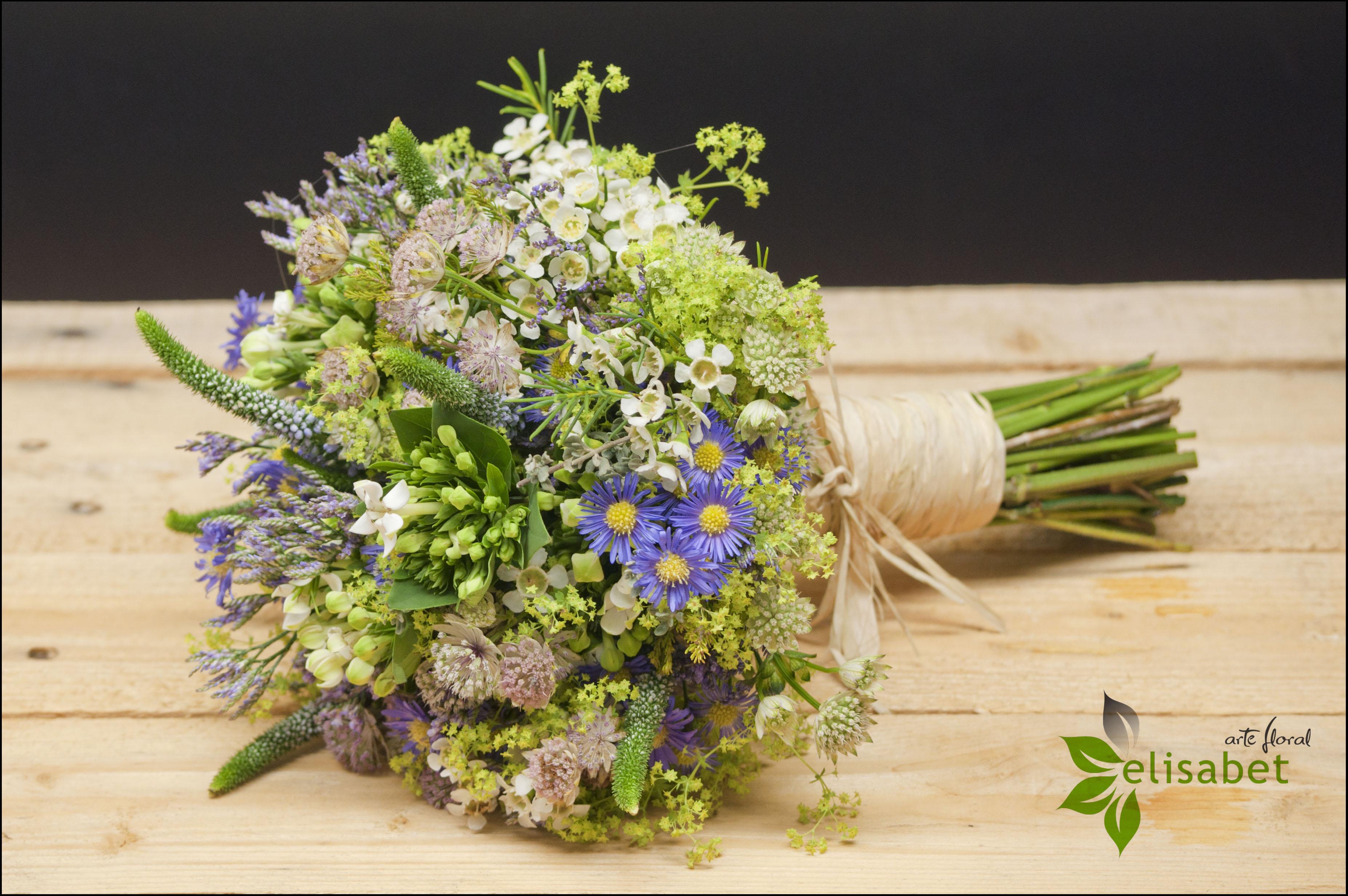 Ramo De Novia Flores Silvestres Elisabet Arte Floral Elisabet Arte