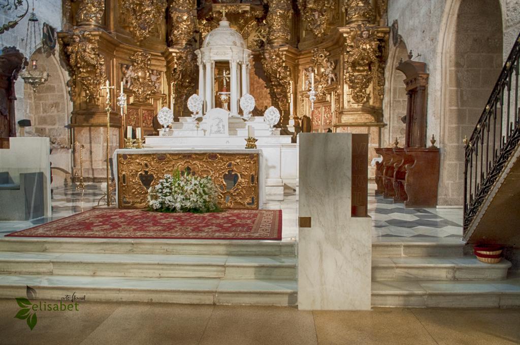 Iglesia de santiago atril derecho elisabet arte floral bodas elisabet arte floral blog - Atril decoracion ...