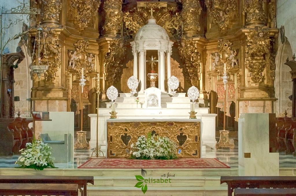 Iglesia de santiago retablo elisabet arte floral bodas - Decoracion en valladolid ...