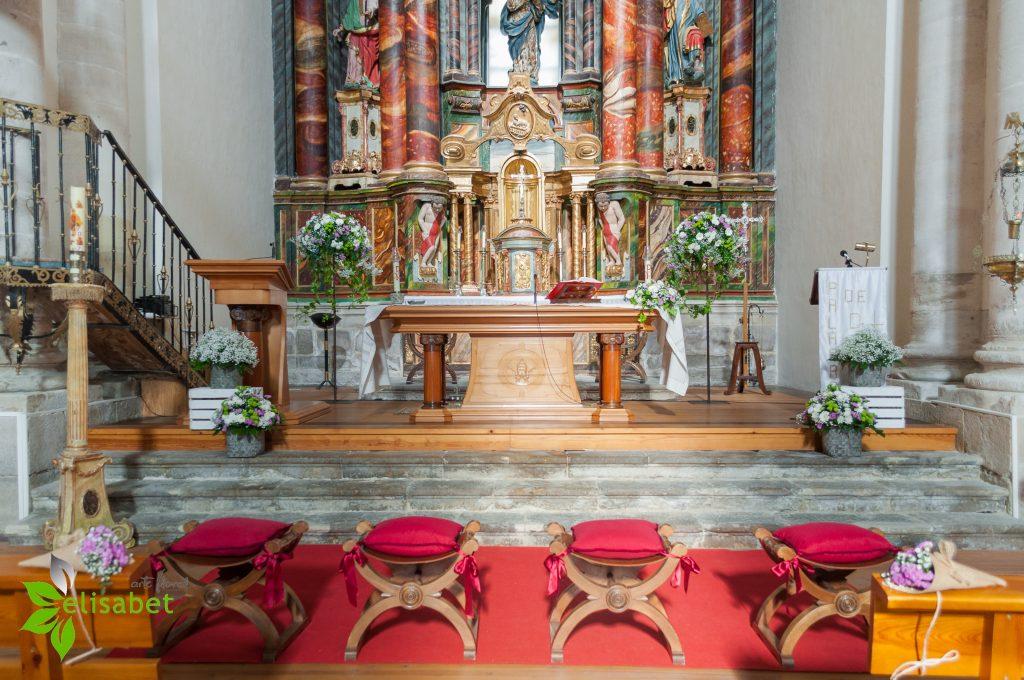 Decoración Iglesia Valoria la Buena